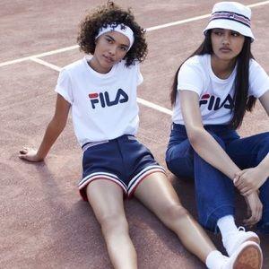 Tops - UO X FILA shirt